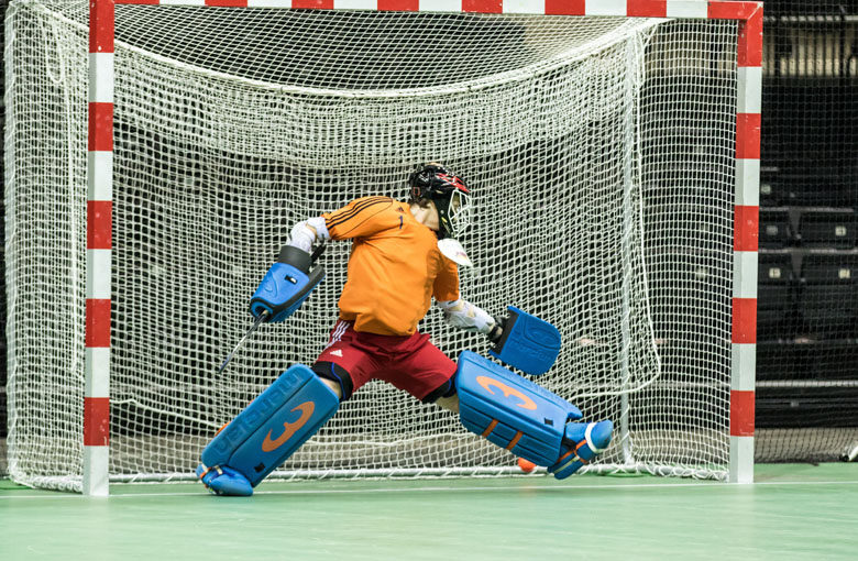 Indoor hockey goal nets Netten