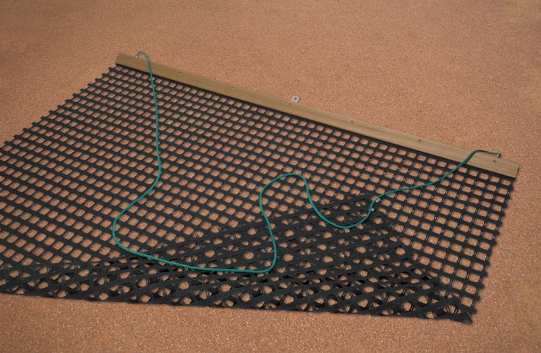 Gravel drag nets