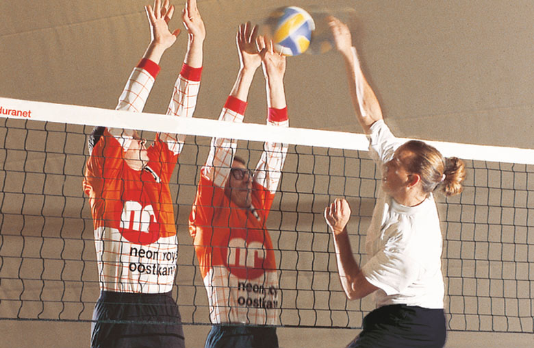 Volleybaltrainingsnetten