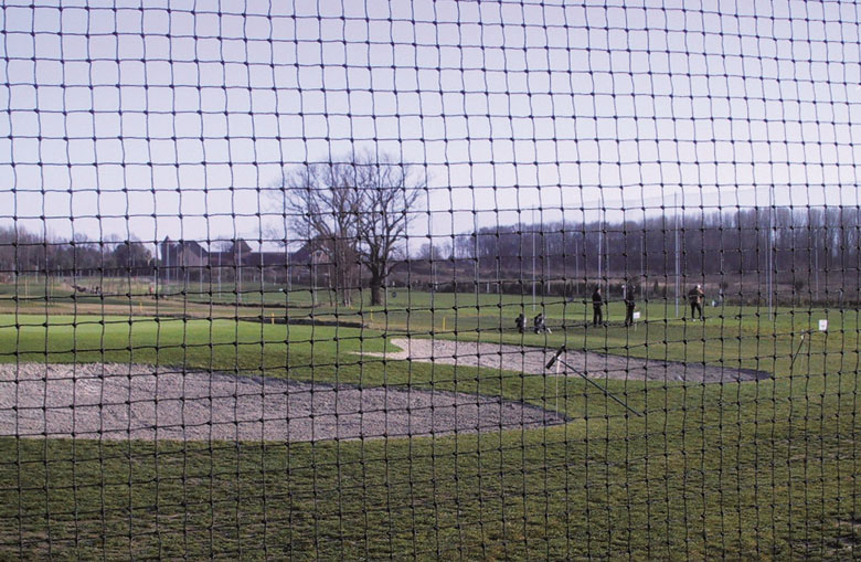 Golf course and driving range nets Netten